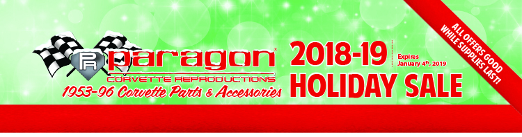 Paragon's 2018-19 Holiday Sale! All prices valid until January 4th, 2019, while supplies last!