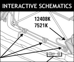 Paragon's Interactive Schematics make finding the Corvette parts you need easy!